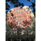 El Paso: Aztec Calendar in a Little Park on Myrtle Street