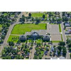 La Junta: Aerial View...La Junta Middle School, built 1921, renovated 1996