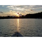 Homosassa: Sunset on the Homosassa River