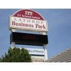Lathrop: Lathrop Business Park on I-5 with ITT Tech., Univ. of Phoenix and Lathrop Chiropractic