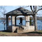 Topeka: Our future wedding site at the Old Stone Gazebo