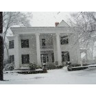 Social Circle: Historic Social Circle home after rare snowstorm.