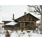 Rockford: Tinker Swiss Cottage in winter
