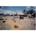 Bernalillo: A photo of old rt 66 in front of visitor center