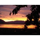 Clark Fork: Lake Pend Oreille Sunset near Clark Fork, Idaho