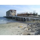 Galveston: The Flagship Hotel - post Hurricane Ike (furniture visible in damaged room). March 2009