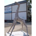 Effingham: Statue of a Giraffe, Downtown Effingham