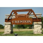 Creston: Creston Welcome Sign