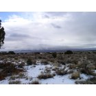 Rio Rancho: Picture taken in Dec. '08 from near my Northern Meadows home, looking eats toward the Sandias