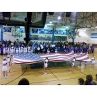 Bernie: Bernie High School indoor gymnasium