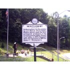 Montgomery: City of Montgomery WV - photo of Veteran's Memorial at the Montgomery Bridge
