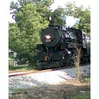 Rossville: picture of the chattanooga choo- choo coming thru rossville by mission ridge road