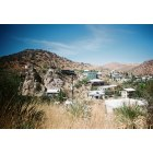 Bisbee: Here we go down into the canyon of old bisbee.