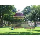 Fort Madison: Central Park Band Stand, Fort Madison, Iowa
