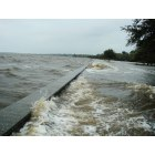 Mandeville: Lake Pontchartrain, Hurricane Ike, 9-13-2008