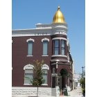 Arkansas City: Union state bank in downtown Arkansas City Kansas