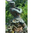Larchmont: Mermaid Fountain Statue in Larchmont
