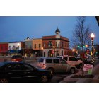 Hartwell: Hartwell Square during Christmas 2008