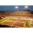 Tempe: ASU Sun Devil Stadium, graduation ceremony May 2009