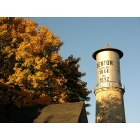 Benton: Historical Stone Water Tower in Benton, WI