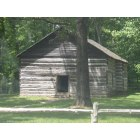 Tompkinsville: Old Mulkey Meeting House,