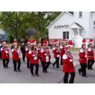 Vandercook Lake: Marching band in homecoming parade