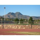 Alpine: Twin Peaks - from Sul Ross State University Running Track