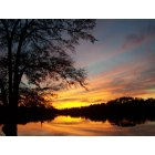 Bonifay: {Un-Touched Photo} Sunset on Dogwood Lakes, Bonifay, Fl. 32425