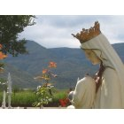 La Luz: Our Lady of the Light and Sacramento Mountains in background