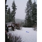 Naples: view from parents deck in naples idaho