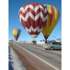 Chama: Hot Air Balloons in Chama January 2009