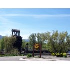 Chama: Coal Tower at Cumbres Toltec in Chama, NM