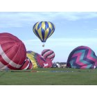 Marshalltown: Balloon Launch Where Mitchell Funeral Home is now Located