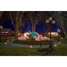 Carrizozo: Christmas Lights in McDonald Park