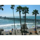 San Clemente: the pier at san clemente