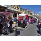 Virginia City: a day at the outhouse races.
