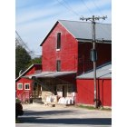 Merton: local feed mill on Main Street, Merton Wi