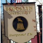 Brooklyn: Historic Town Sign