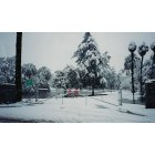 Porterville: Snow Storm in Porterville, Winter of 1999
