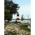 Mount Dora: Light house on Lake Dora