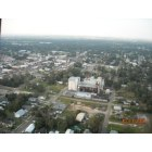 Abbeville: This picture was takin in 2008 of a over head look of the rice mill you can also see the Court house