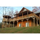 Bryson City: Log Cabin in Lands Creek