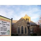 Chevy Chase: All Saints Episcopal Church, 3 Chevy Chase Circle, 4:16 pm, Nov 29th, 2009.