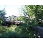 Mount Gilead: rickety bridge