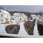 Hooversville: Early December snow in the village