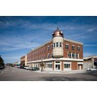 Paso Robles: Landmark building at the center of Paso Robles. Rebuilt after the 6.5 earthquake took the building down.