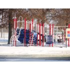 Mount Vernon: children's playground in Spirit of '76 park after Dec 2009 first big snow