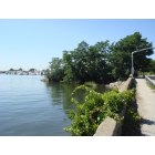 Port Washington: Walkway beside Manhasset Bay, Shore Road, Port Washington