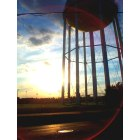 Normal: Water tower off Main Street by ISU stadium.