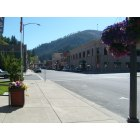 Wallace: Downtown Wallace in the summer